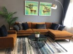2 BED APARTMENT 84m2 FOR RENT - SAIGON PEARL (SP02) 1